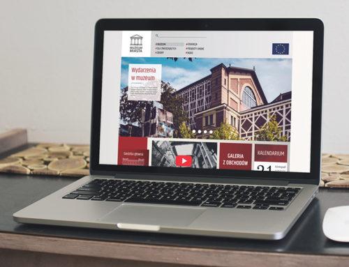 Projekt strony dla muzeum