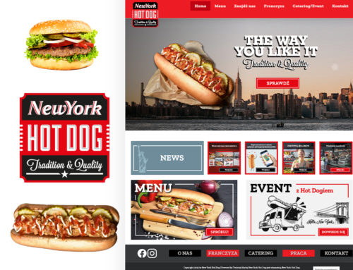 New York Hot Dog – strona www