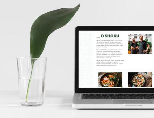 Strona www restauracji Shoku