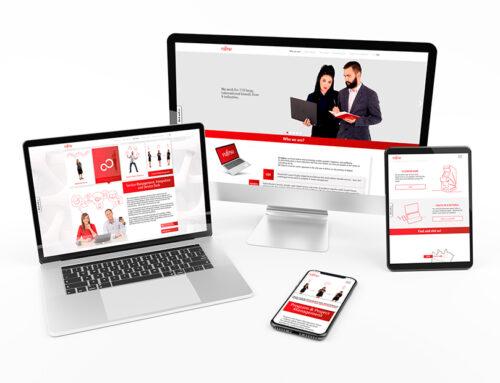 Fujitsu – strona www