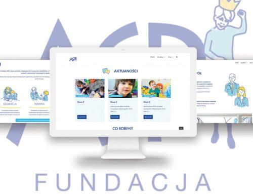 ASPI – strona www dla fundacji
