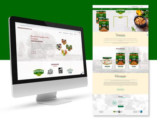 Strona internetowa dla Stoczek Natura