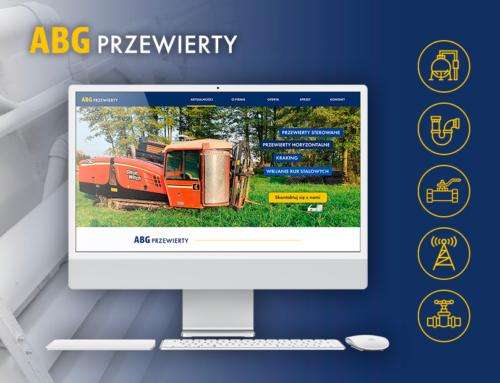 Strona internetowa dla ABG Przewierty
